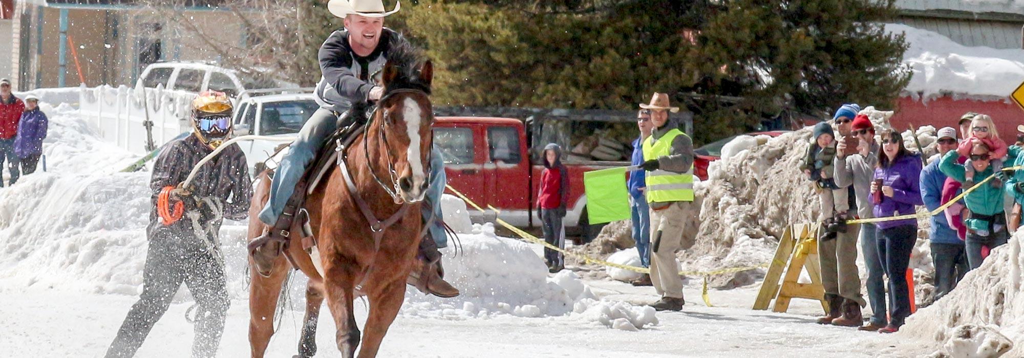 Lewistown Fair 2020.Montana Winter Fair Skijoring
